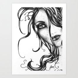 Vanishing Venus Art Print