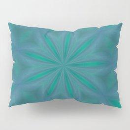 Aurora In Jade and Blue Pillow Sham