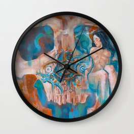 Death and the Maiden Wall Clock