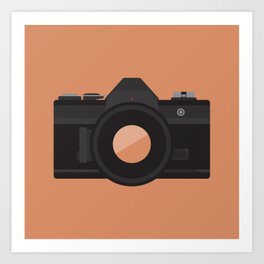 Camera Series: AE-1 Art Print