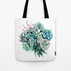 Cactus circle Tote Bag