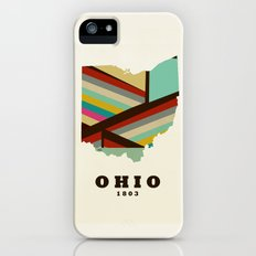 Ohio state map modern Slim Case iPhone SE