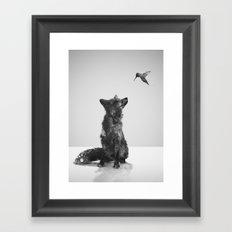 Little Friend Framed Art Print