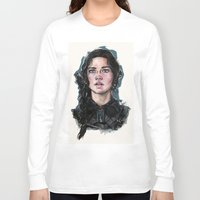 katniss Long Sleeve T-shirts featuring Katniss Everdeen by vooce & kat