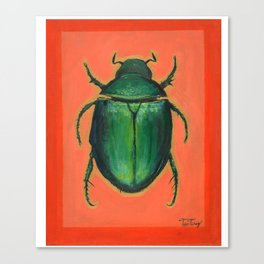 The Scarab Canvas Print