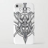 viking iPhone & iPod Cases featuring Viking by Liz Guhl @lizaguhl