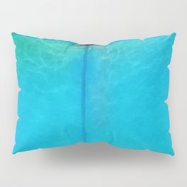 On The Straight and Narrow Pillow Sham