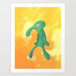 High Res Bold and Brash Repaint Art Print