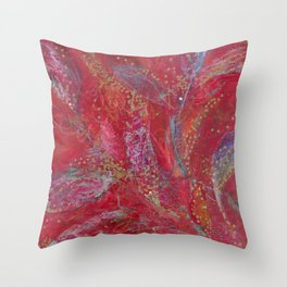 DreamingLeaves(1)2008 Throw Pillow
