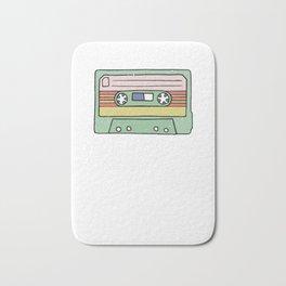 Retro Cassette Tape Bath Mat