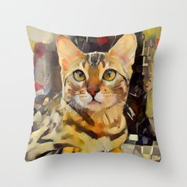 I Am Not Amewsed Throw Pillow