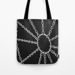Web of pleasure and pain Tote Bag