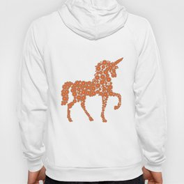 Unicorn Flowers Flora Mythical Creature Gift Idea T-Shirt Hoody