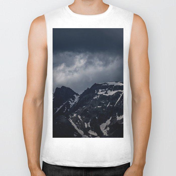 Dark Mountain mood Biker Tank
