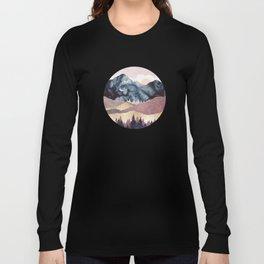 Mauve Vista Long Sleeve T-shirt