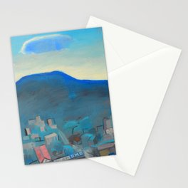 Over the mountain Stationery Cards