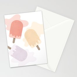 POPSICLES Stationery Cards