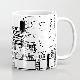 Cozy Home in Fine Liner Coffee Mug