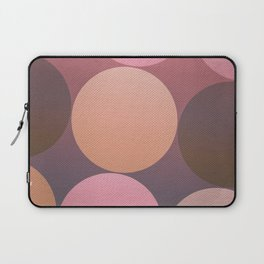 Pink Shadows Moon Laptop Sleeve