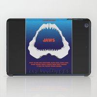 jaws iPad Cases featuring Jaws by GlennTKD