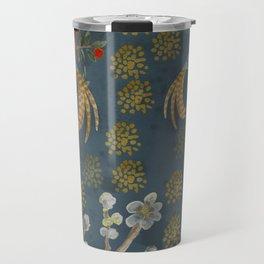 Blue Chinese Forest Travel Mug