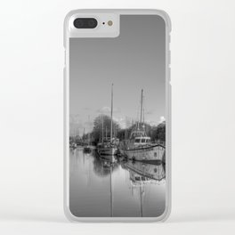 Red Buoy Clear iPhone Case