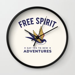 Cool Vintage Quote Wall Clock
