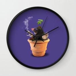 Pot (Colour) Wall Clock