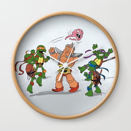 Keep Away! Wall Clock