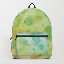 Colorful watercolor painting Backpack