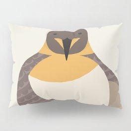 Whimsical Emperor Penguin Pillow Sham