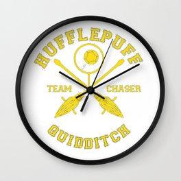 Hufflepuff  Chaser Wall Clock