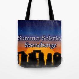 Summer Solstice Stonehenge Tote Bag