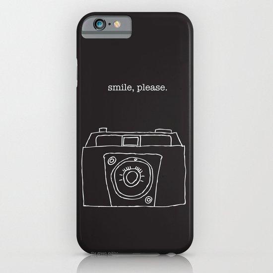 Vintage camera negative iPhone & iPod Case