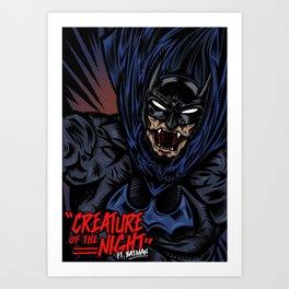 Creature of the Night Art Print