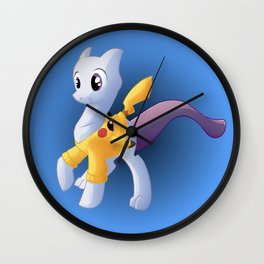 My little Mewtwo Wall Clock