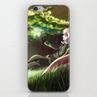 hetalia iPhone & iPod Skins featuring Arthur Kirkland by Kurfluffle