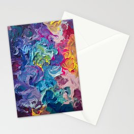 Aurora Swirls Stationery Cards