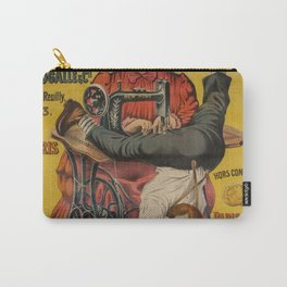 Dressmaker,seamstress,tailor,quilter,funny vintage art  Carry-All Pouch
