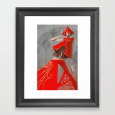 Pepper Fashion Framed Art Print