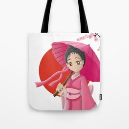 Japonaise 3 Tote Bag