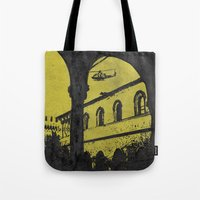 milan Tote Bags featuring Milan 4 by Anand Brai
