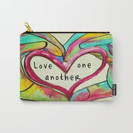 Love One Another John 13:34 Carry-All Pouch