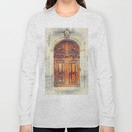 Trapani art 23 Sicily Long Sleeve T-shirt
