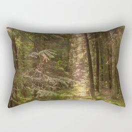 Summer forest Rectangular Pillow