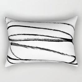 My mind is a mess. Rectangular Pillow