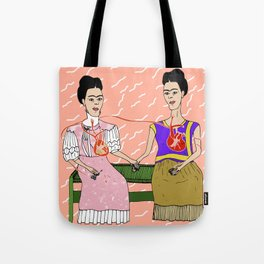 The Two Fridas Tote Bag