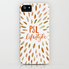 Pumpkin Spice Lifestyle iPhone Case