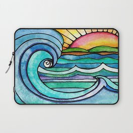 Beachy #society6 #spring #summer Laptop Sleeve