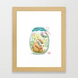 forest stories. n.7 Framed Art Print